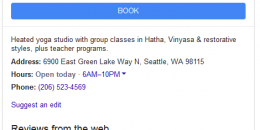 Google Adds New Booking Link to Local Knowledge Panel