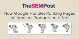 How Google Handles Ranking Pages of Identical Products on a Site