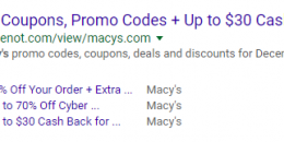 Google Sending Manual Actions for Event Markup Spam in Search Results
