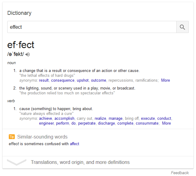 Google Adds Tips to Definition Boxes in Search Results