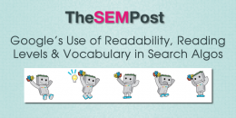 Google's Use of Readability, Reading Level & Vocabulary Metrics in Search Algorithms