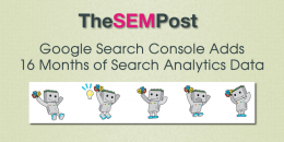 Google Search Console Adds 16 Months of Data