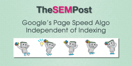 Google's Page Speed Algo Independent of Indexing