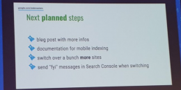 Google Mobile First: Search Console Alerts & Report Annotations Coming