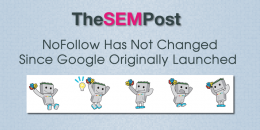 Nofollow Has Not Changed Since Google Launched It