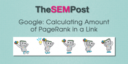 Google: Calculating Amount of PageRank in a Link