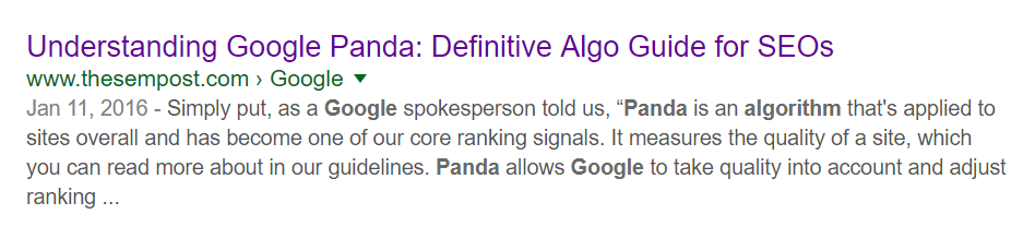Signals Influence Date Google Shows in Search Results