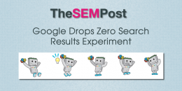 Google Drops Zero Search Results Experiment