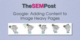 Google: Adding Content to Image Heavy Pages