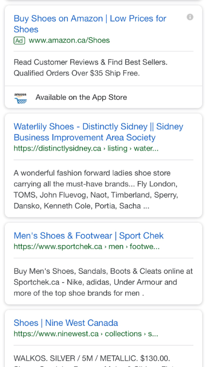 Google Testing Infinite Scroll in Mobile Search Results
