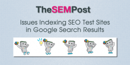 Issues Indexing SEO Test Sites in Google Search Results