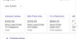 Google Testing Large Product Knowledge Panel With Paid & Organic Features