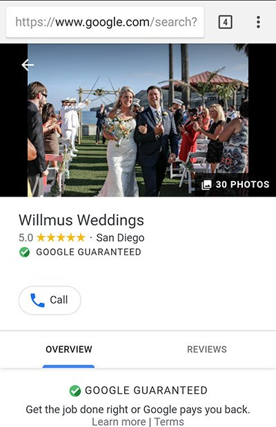 Google Testing Images in Local Service Ads in Search Results
