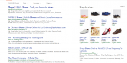 Bing Testing Ads Tag With Border in Search Results Again