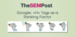 Google: H Tags as a Ranking Factor