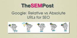 Google: Relative Versus Absolute URLs for SEO