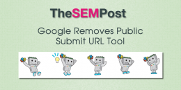 Google Removes Public Submit URL to Google Tool