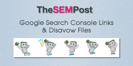 Google Search Console Links & Disavow Files