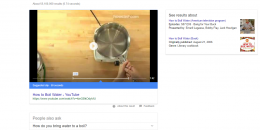 Google's Featured Snippet Videos Now Overlay in Search Results